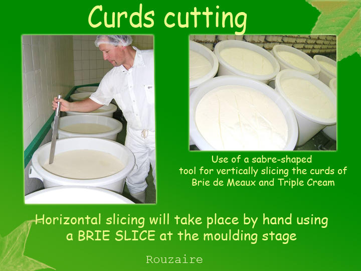Curds cutting